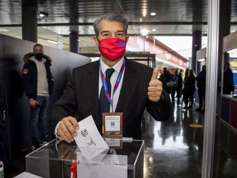Joan Laporta, nuevo presidente del FC Barcelona