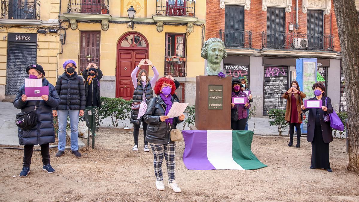 El Movimiento Feminista de Madrid se manifestará el 8-M