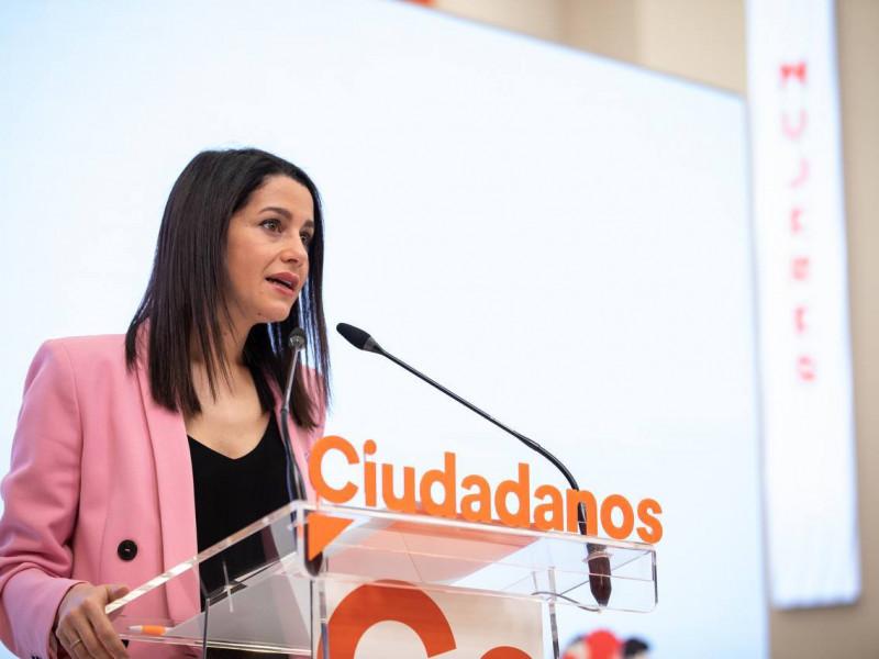 Dirigentes de Cs dejarán el partido si Arrimadas no remodela la cúpula