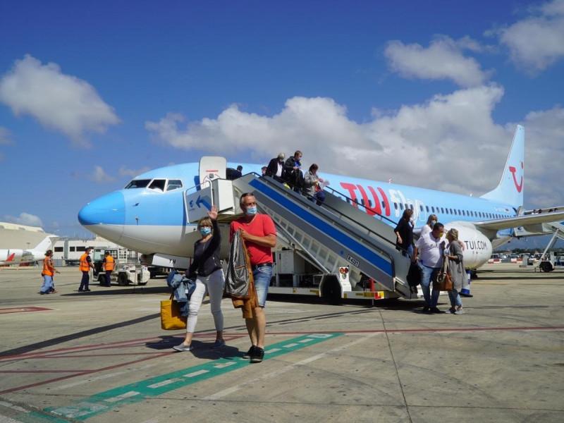 TUI prevé que el turismo alemán hacia Baleares se reactive en abril