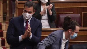 Podemos y socialistas vuelven a chocar por el reparto de los 11.000 millones anunciados por Sánchez