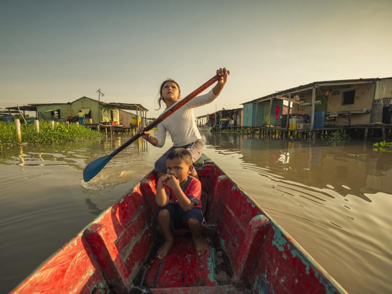 Viaje a la Venecia caribeña: crónica de un país fantasma
