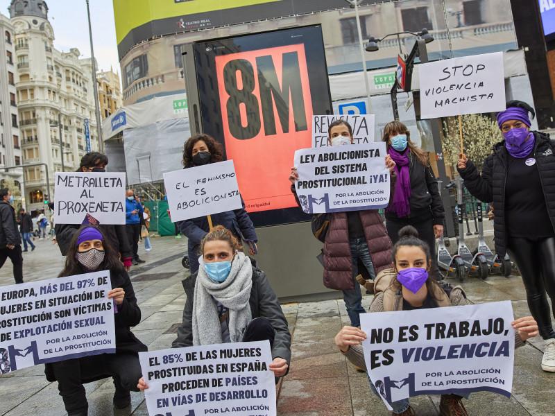 8-M en Madrid.
