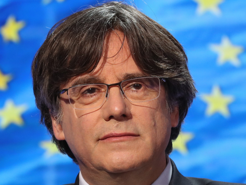 El expresidente de la Generalitat de Catalunya Carles Puigdemont.