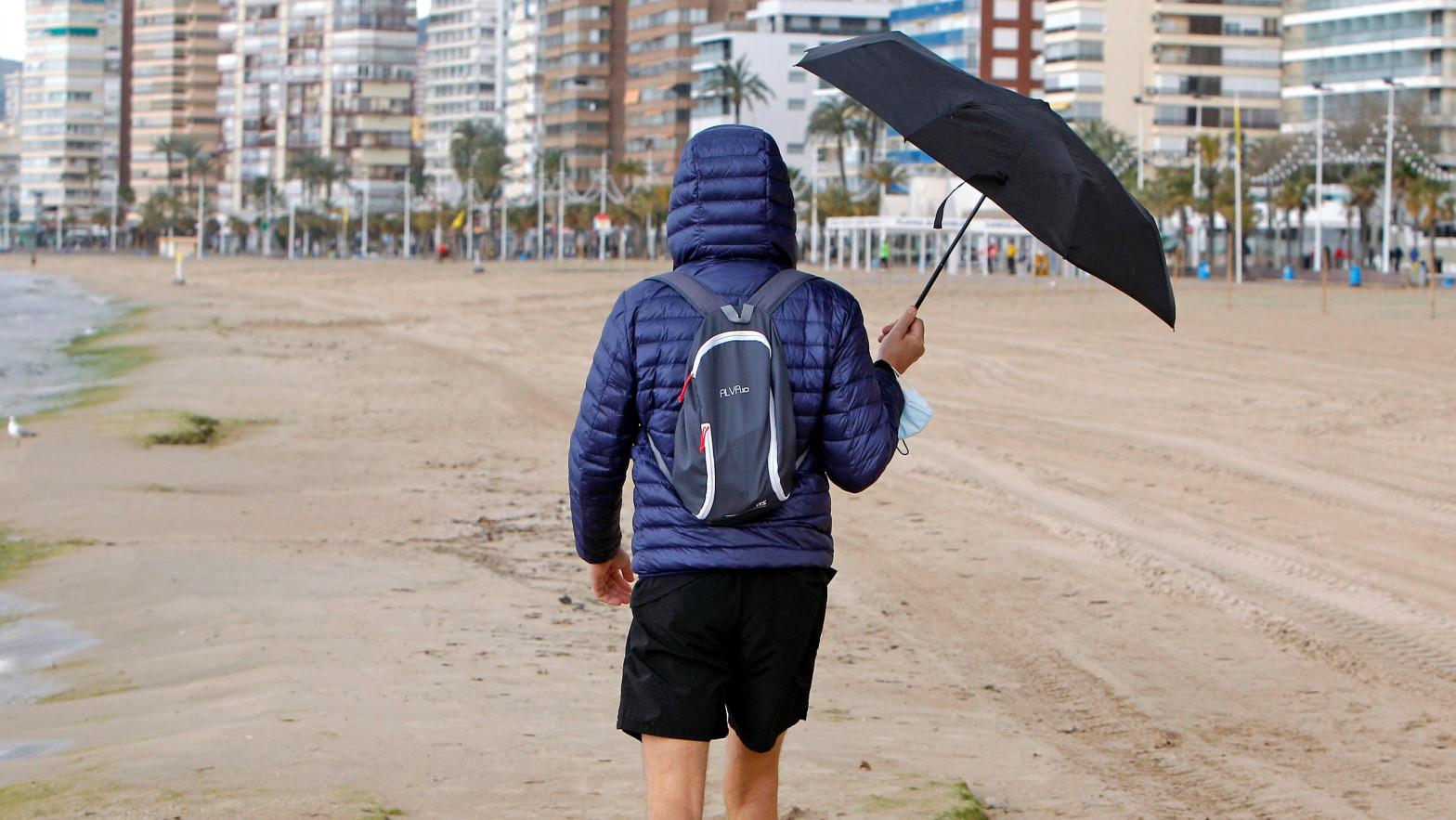Precipitaciones en amplias zonas de la península