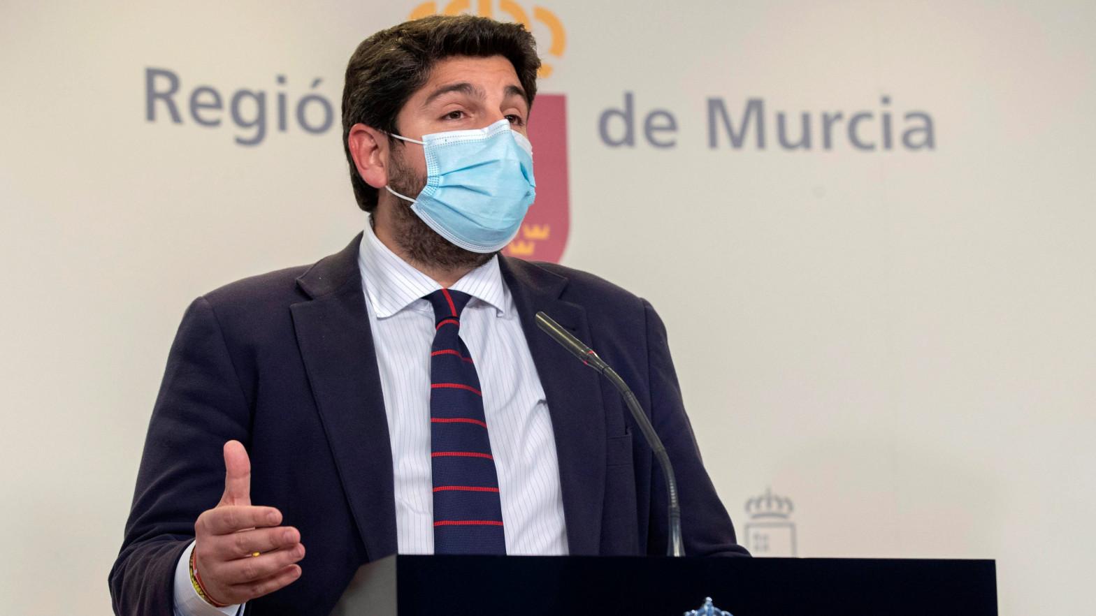 El PP se sitúa al borde de la mayoría absoluta en Murcia tras la moción fallida