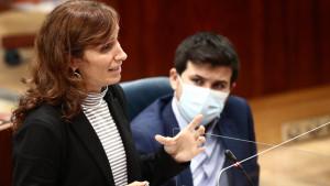 La diputada de Más Madrid en la Asamblea de Madrid, Mónica García