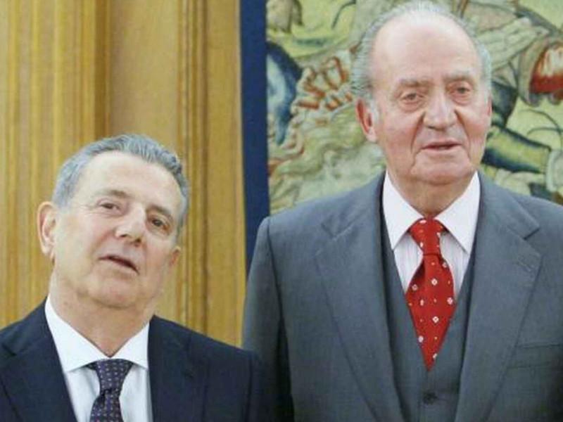 Javier Godó y Juan Carlos I
