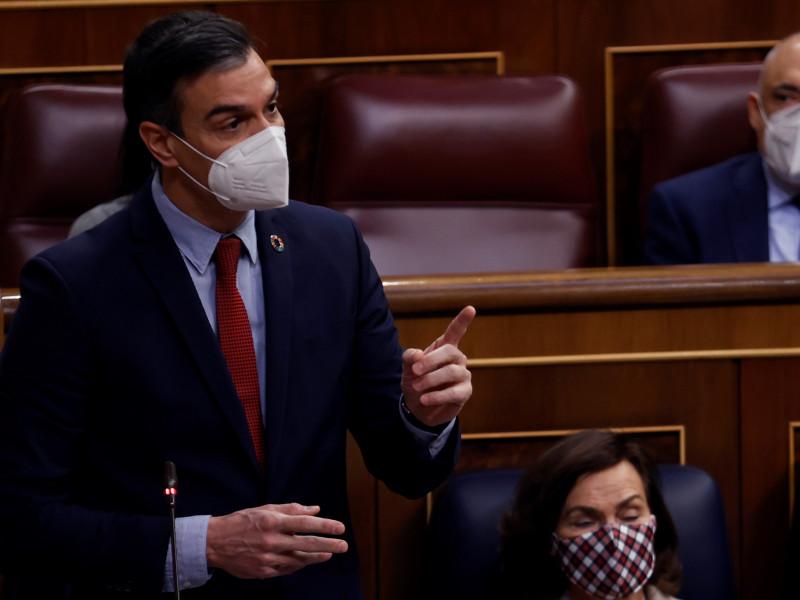 """Pedro Sánchez asegura que Vox desea una España """"grande, única y libre"""""""