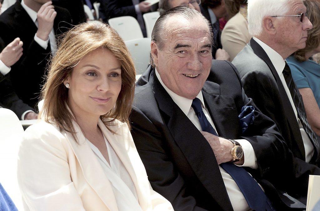 Nuria González y Fernando Fernández Tapias llevan 20 años casados.