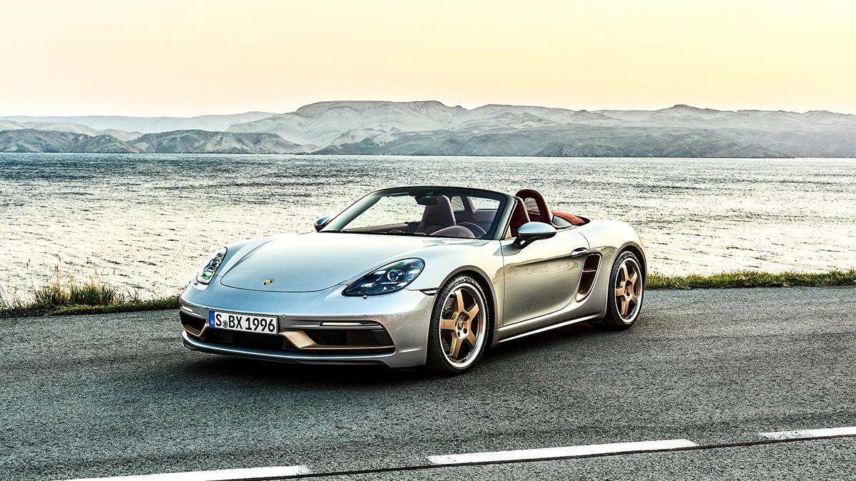 Celebrar la belleza: Porsche lanza una edición limitada de su mítico Boxster