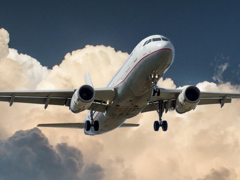 La cifra de pasajeros de avión se deplomó en enero.