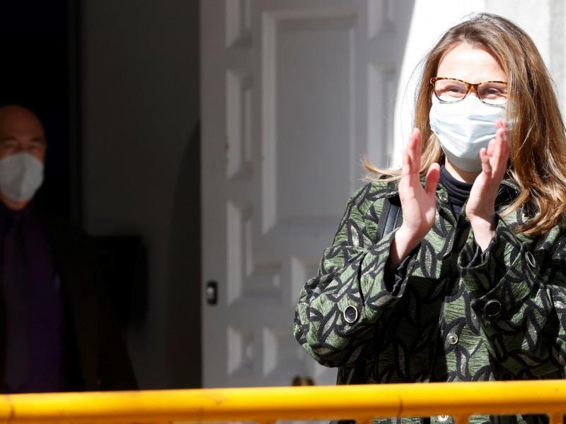 La exconsellera Serret, huida en Bélgica, se entrega en el Tribunal Supremo
