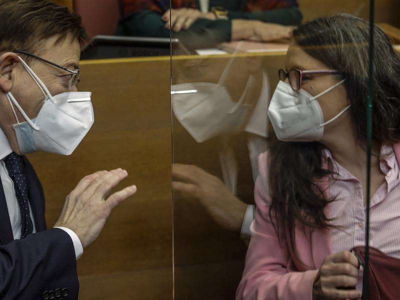 Los partidos del Gobierno valenciano rechazan la comisión de investigación sobre ayudas a familiares del 'president'