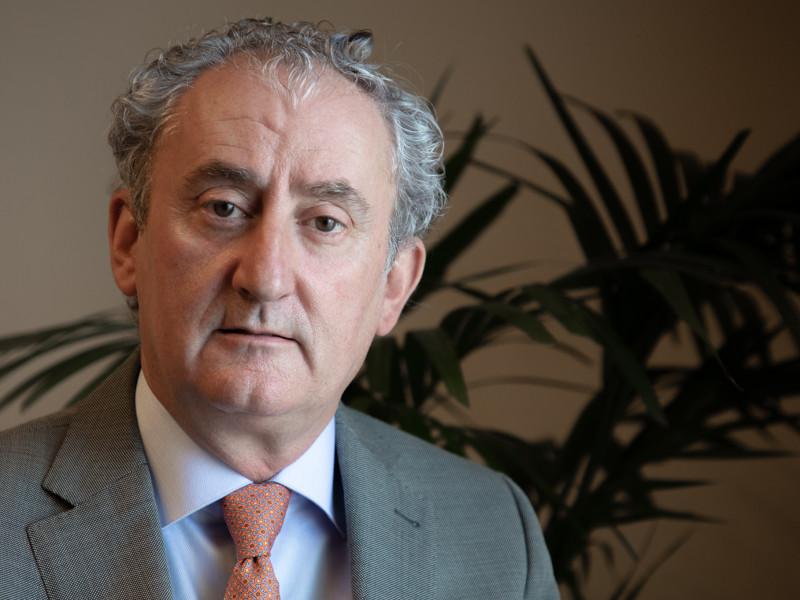 Tomás Cobo, presidente del presidente del Consejo General de Colegios Oficiales de Médicos
