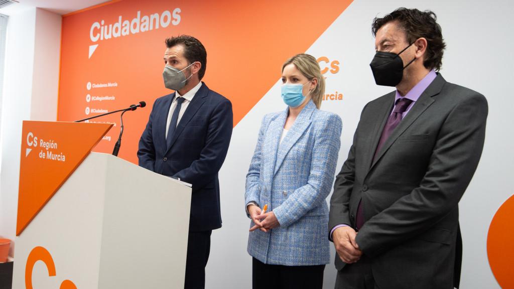 Ciudadanos pierde el control en Murcia