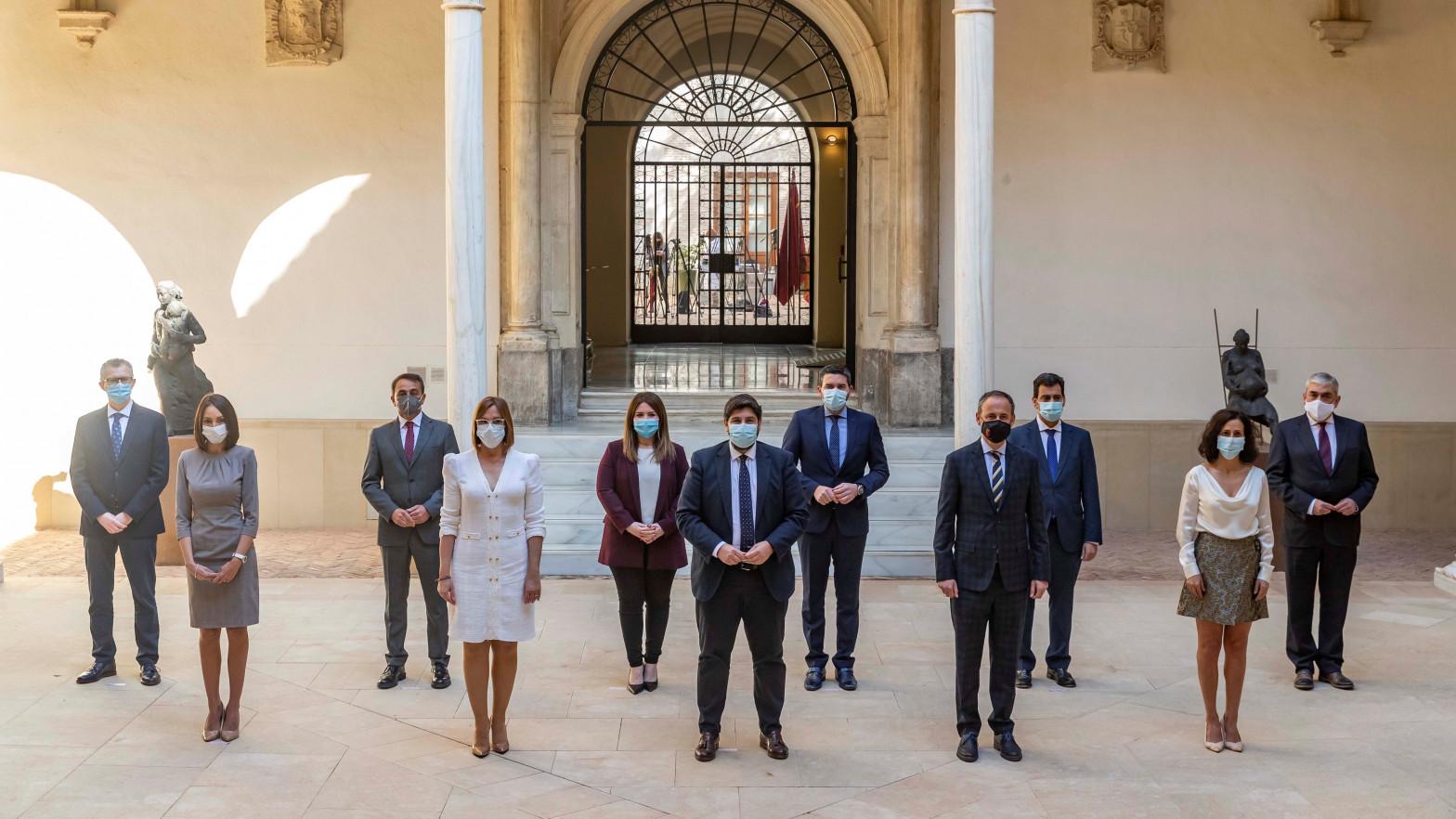 Expulsados de Cs los tres diputados nombrados consejeros del Gobierno de Murcia