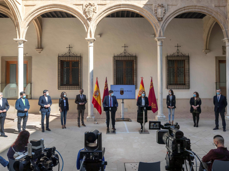 Toman posesión de sus cargos como consejeros del Gobierno de Murcia los tres diputados de Cs