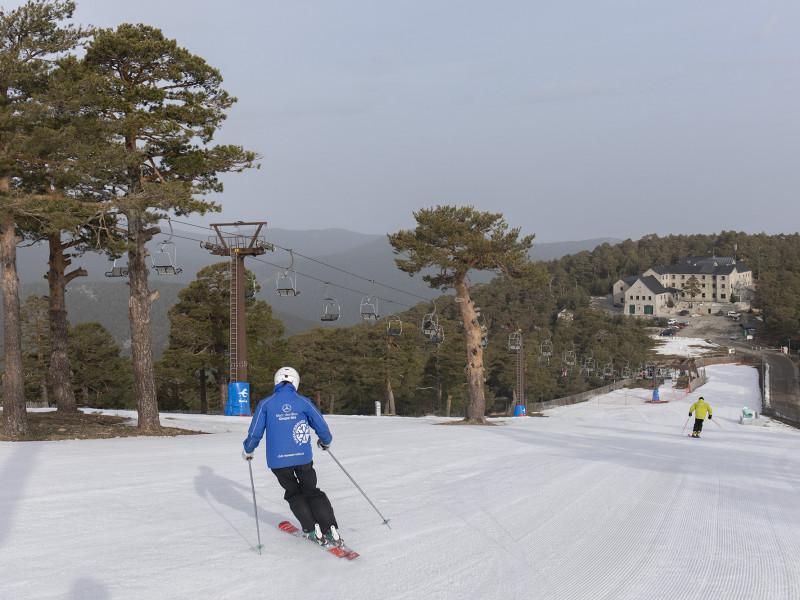 Puerto de Navacerrada: fin a una de las estaciones de esquí más antiguas de España