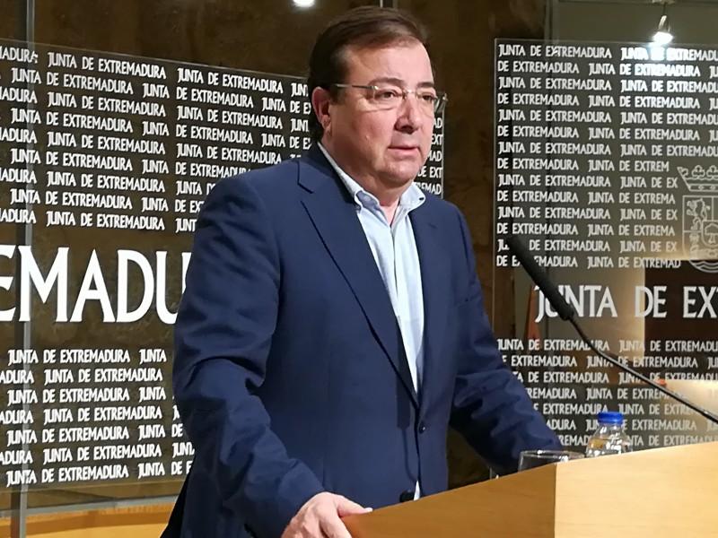 """Fernández Vara asegura sentir """"vergüenza"""" por """"el espectáculo político de unos y otros"""""""
