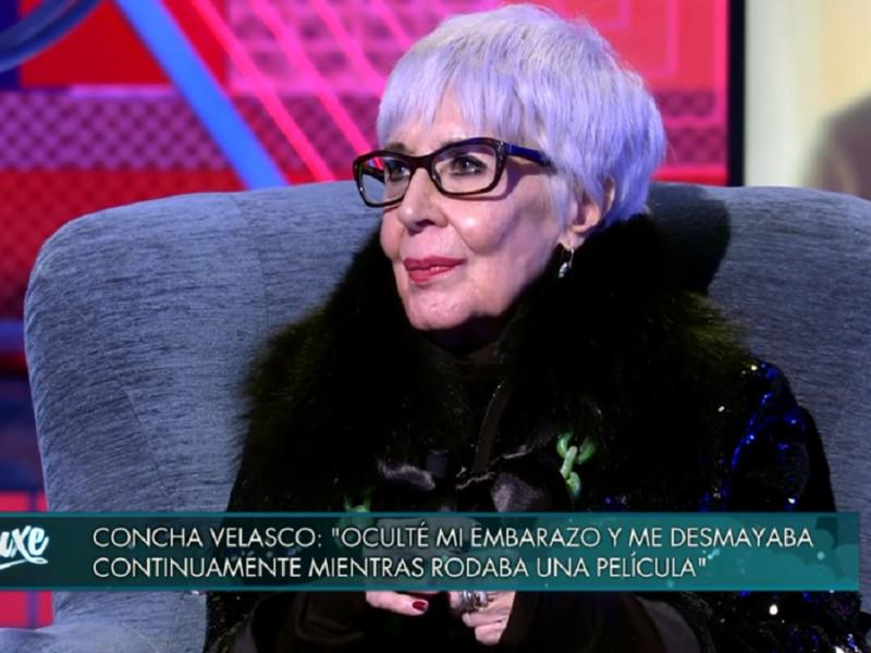Concha Velasco confiesa que estuvo a punto de abortar