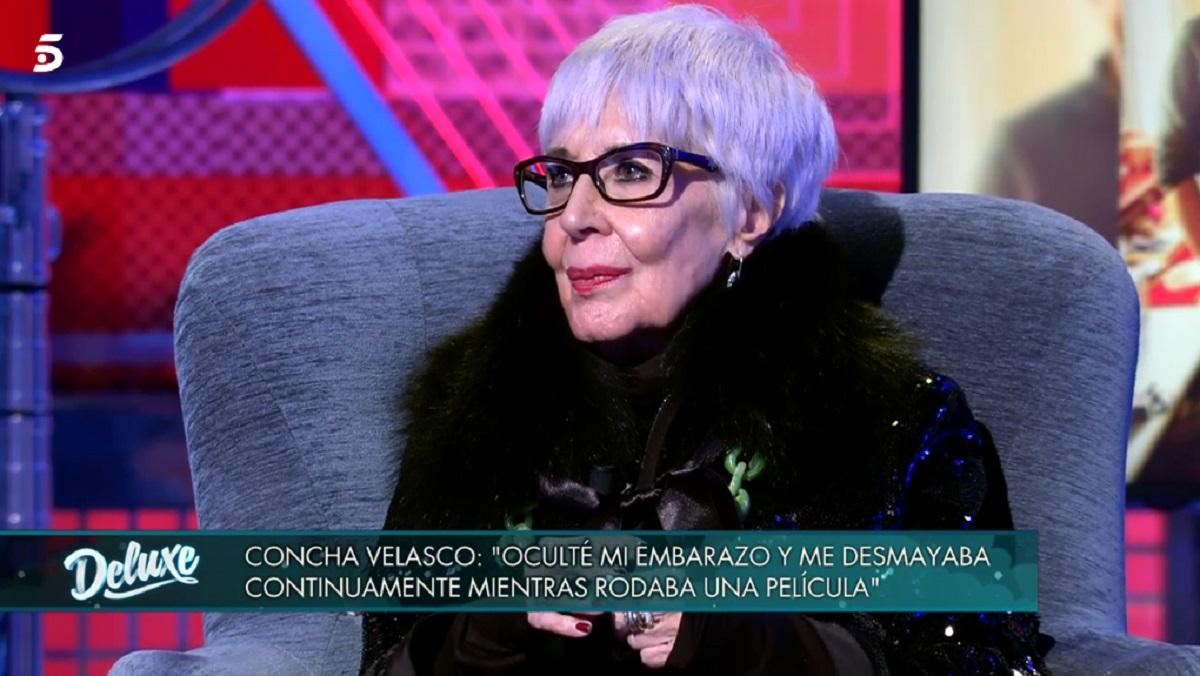 Concha Velasco desvela quién es el padre de su hijo Manuel