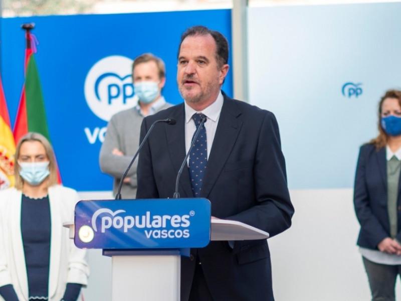 Seis ex dirigentes de Cs de Álava se afilian al PP vasco