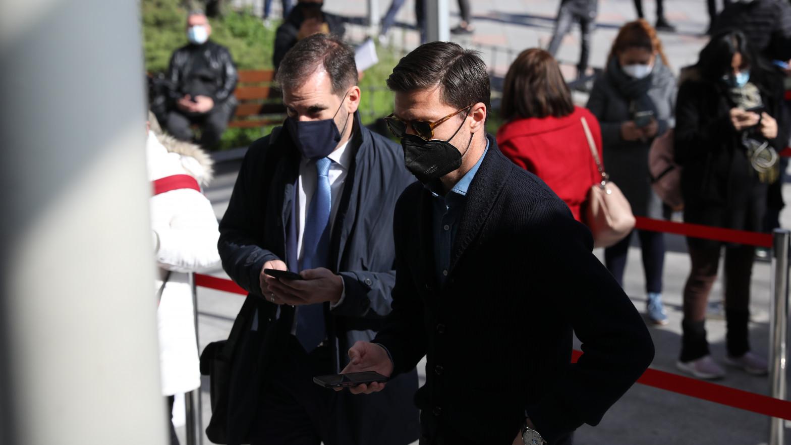 Xabi Alonso declara ante el juez por presunto fraude fiscal en 2013 y 2014