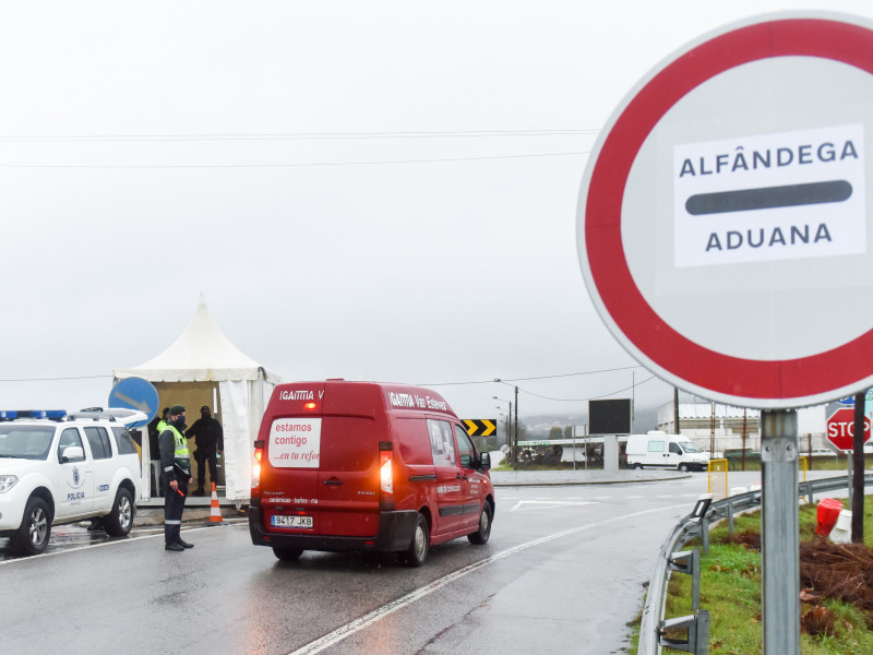 El cierre de la frontera con Portugal se prorroga hasta el 6 de abril