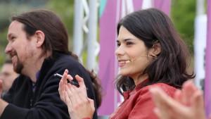 Pablo Iglesias e Isa Serra