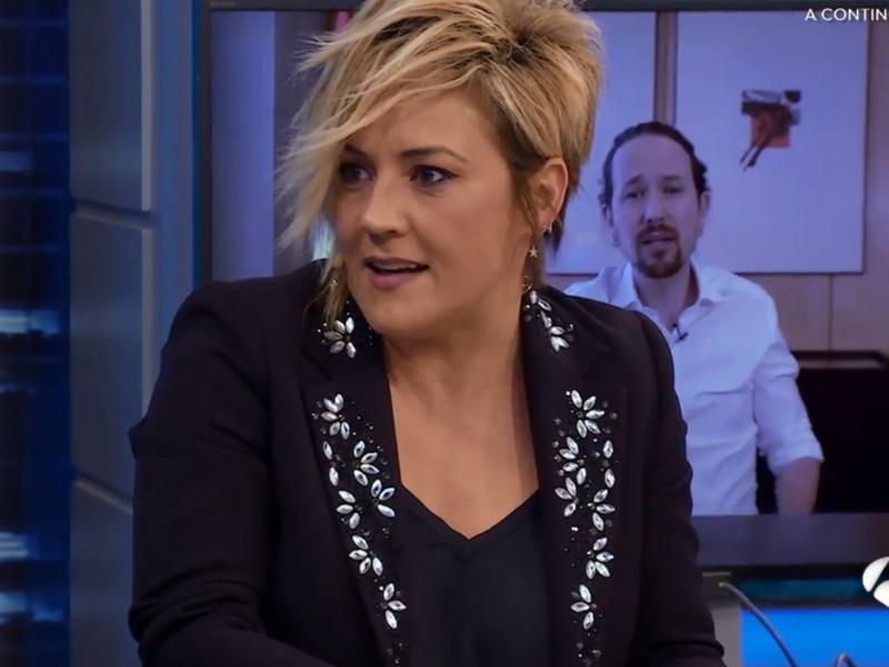 Cristina Pardo habla de los motivos ocultos del abandono de Pablo Iglesias