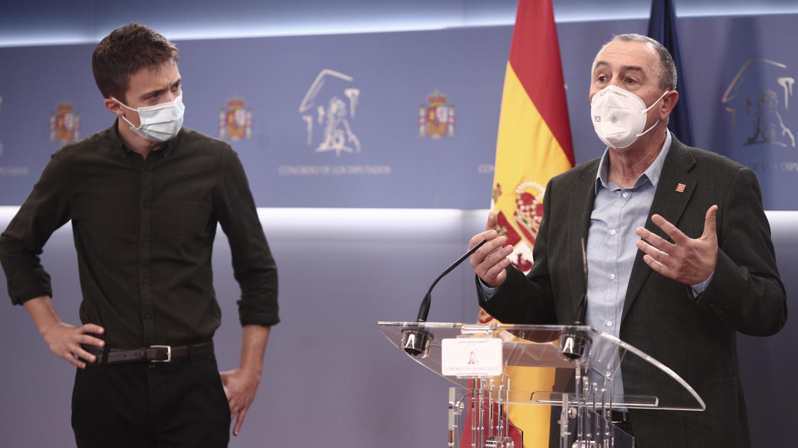 """Baldoví: Iglesias """"dura poco en los sitios"""" y con Díaz habrá acuerdos sin """"tanto espectáculo"""""""