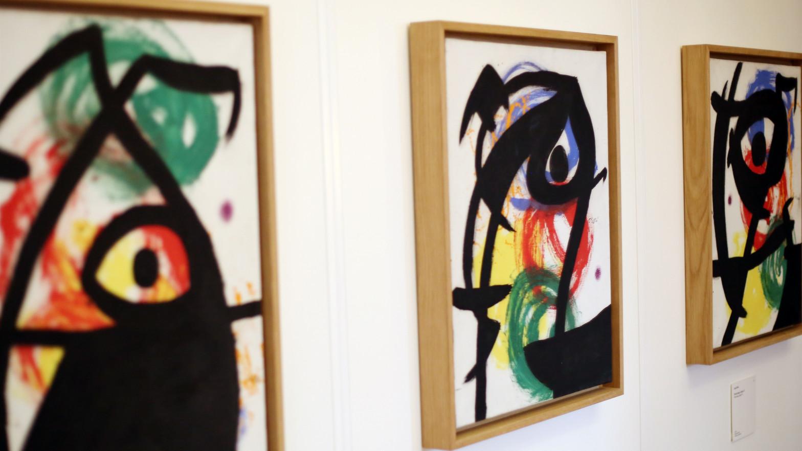 Un galerista acepta un año de prisión por vender cuatro obras falsas de Miró