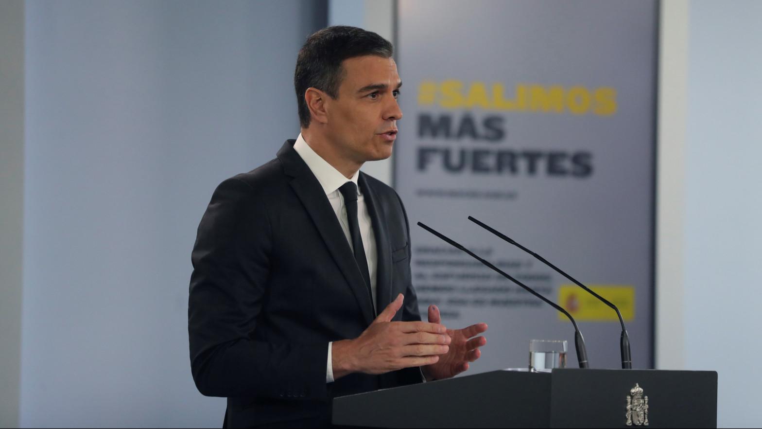 Sánchez rompe las hostilidades