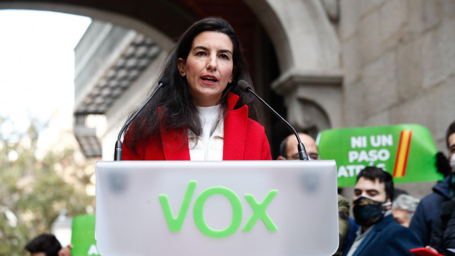Vox confirma a Monasterio como candidata para las elecciones en Madrid