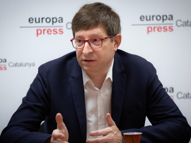 El exconseller de Justicia de la Generalitat Carles Mundó.