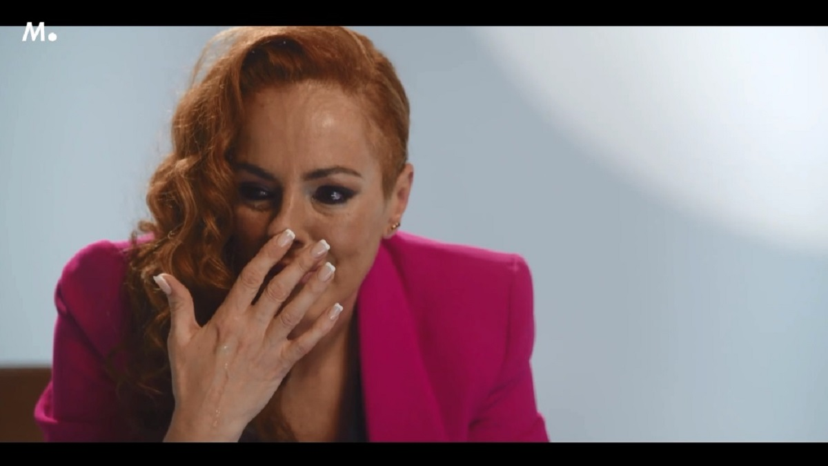 Rocío Carrasco rompe a llorar en el documental