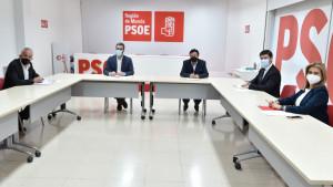 PSOE y Cs firman su programa de gobierno en Murcia, que incluye una ley de Gobierno abierto y transparencia