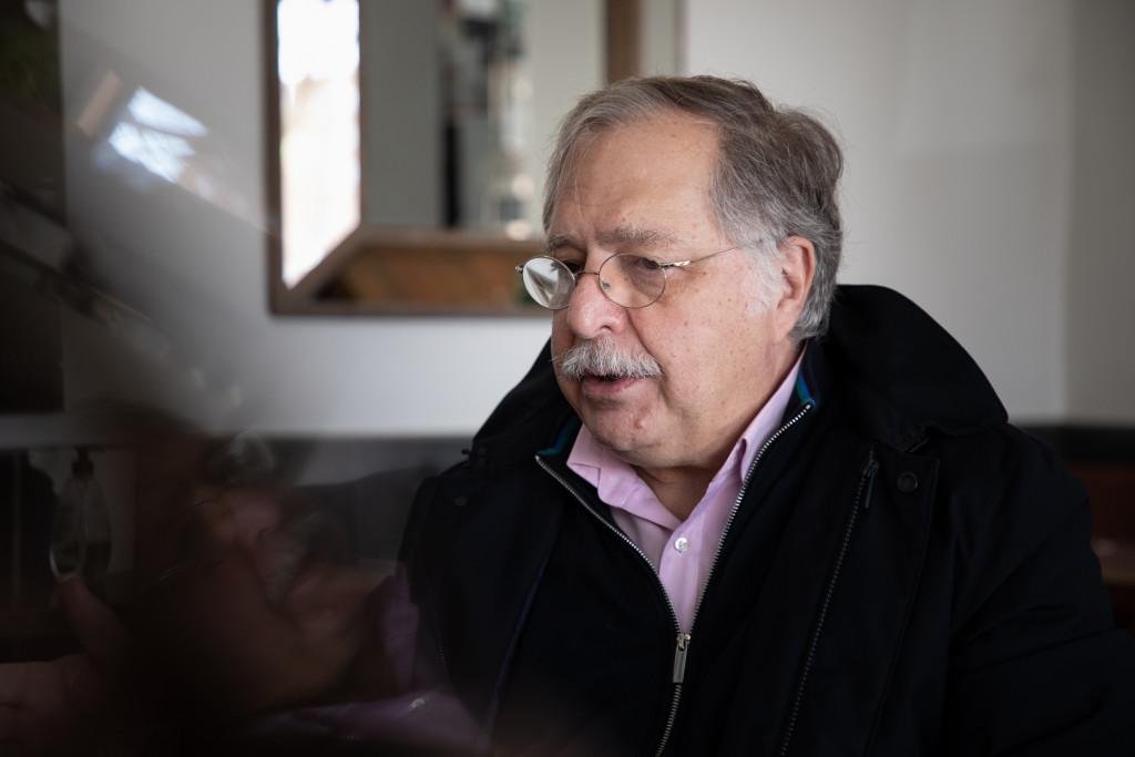 Luis Herrero en la entrevista de Vozpópuli.