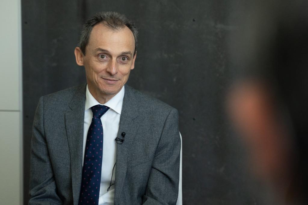 Pedro Duque en entrevista con Vozpópuli.