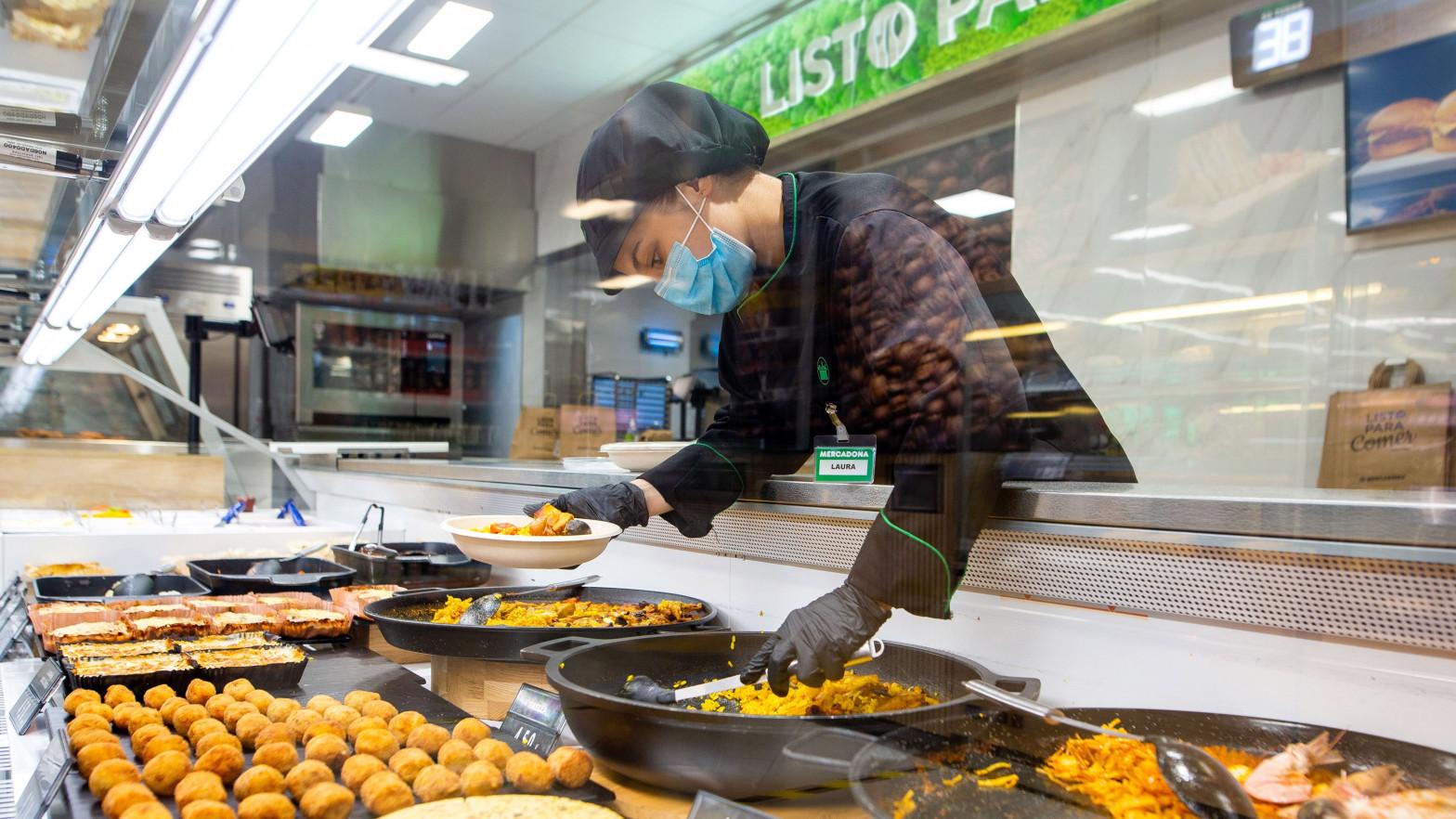 """Mercadona y Lidl aumentan hasta un 7% las ventas del """"listo para comer"""""""