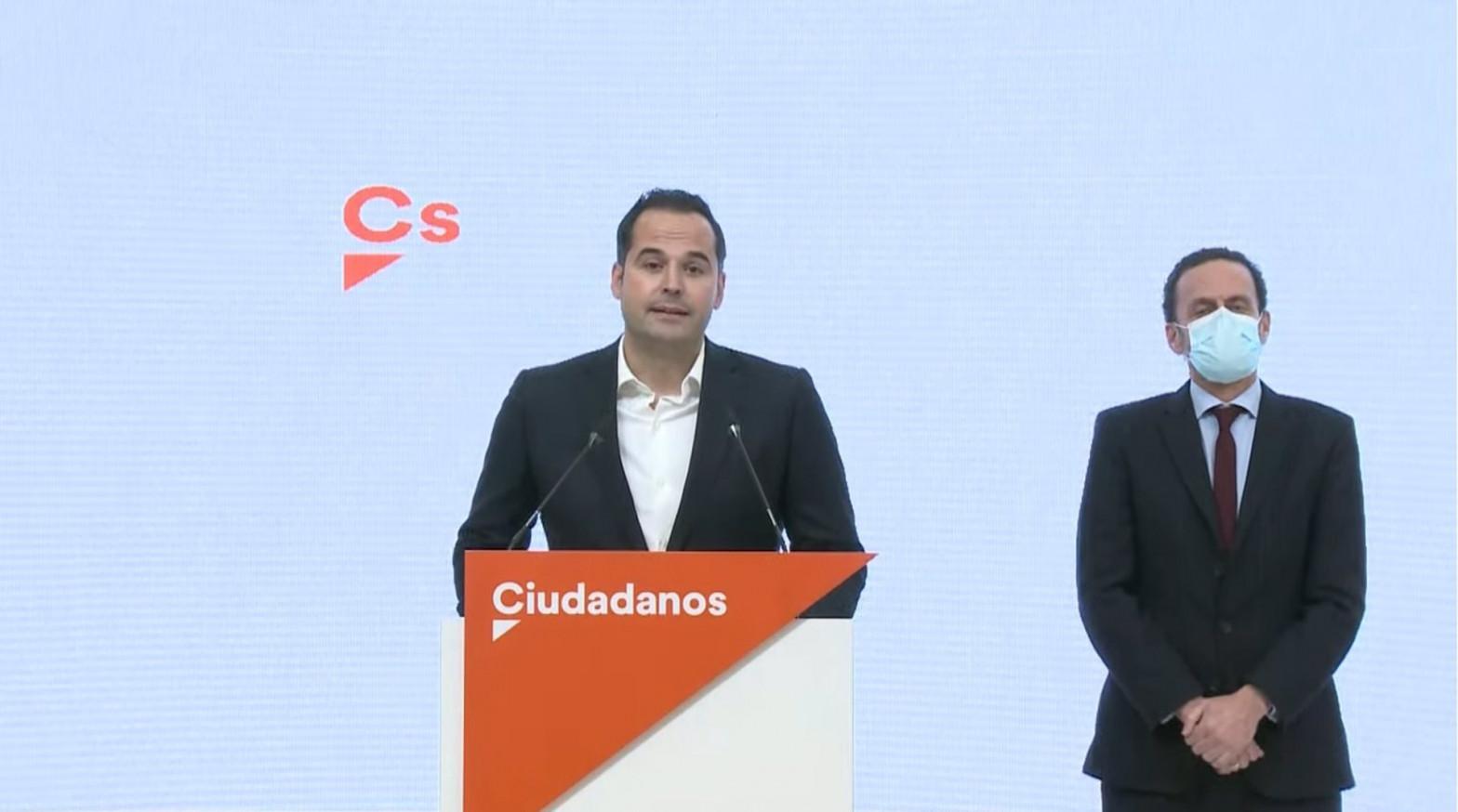 Aguado renuncia y Ciudadanos elige a Edmundo Bal como candidato en Madrid