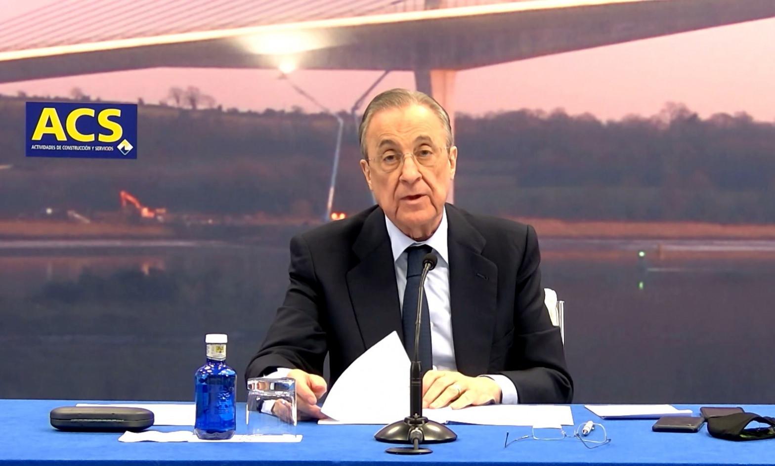 Floretino Pérez revoluciona la cúpula de Dragados tras la caída del negocio