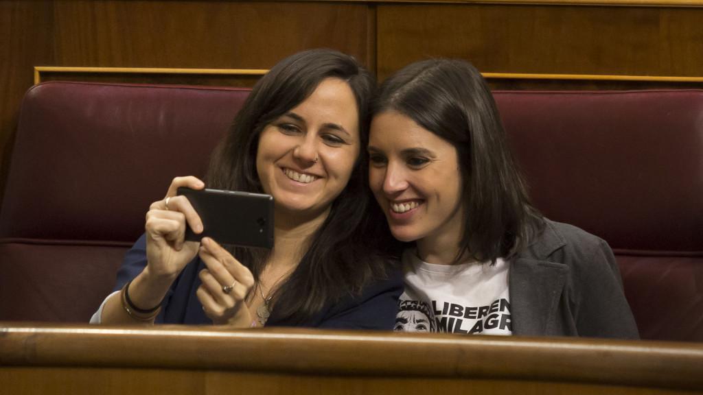Ione Belarra e Irene Montero