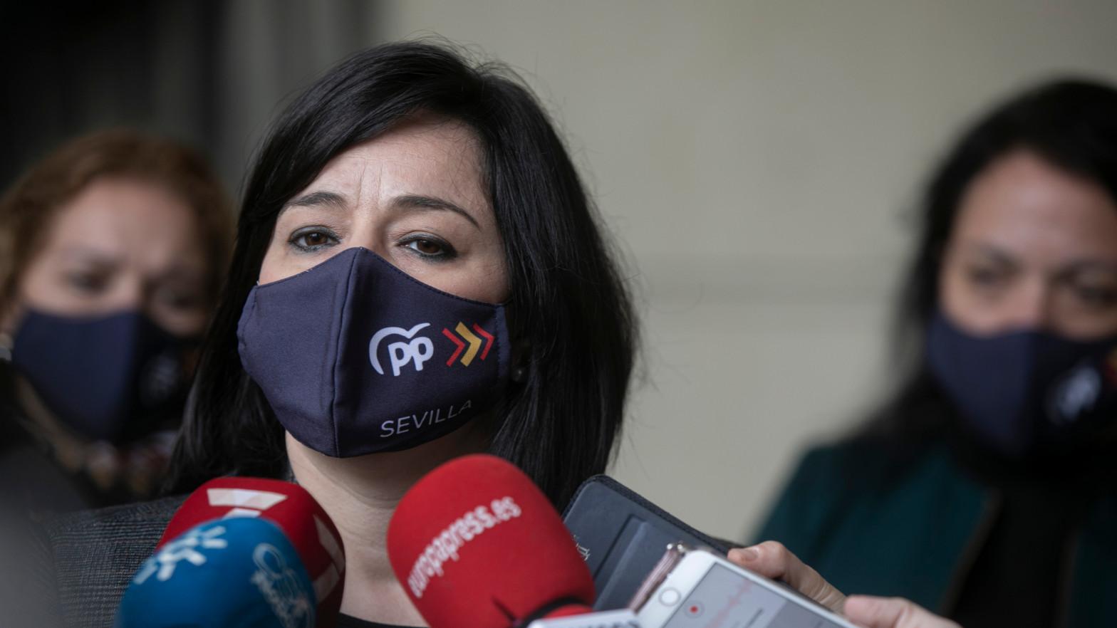 Virginia Pérez, presidenta del PP de Sevilla