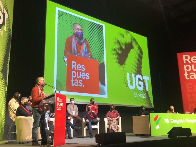 """Álvarez cree que UGT ha dado una """"lección"""" al participar Otegi en el congreso del sindicato"""