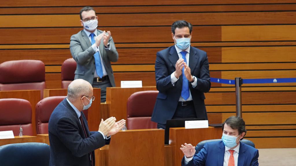 Igea (Cs) aplaude a Mañueco (PP)