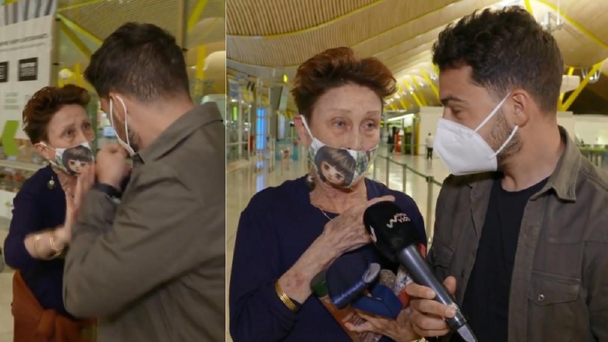 Verónica Forqué se olvida de su salvoconducto para poder viajar a Canarias