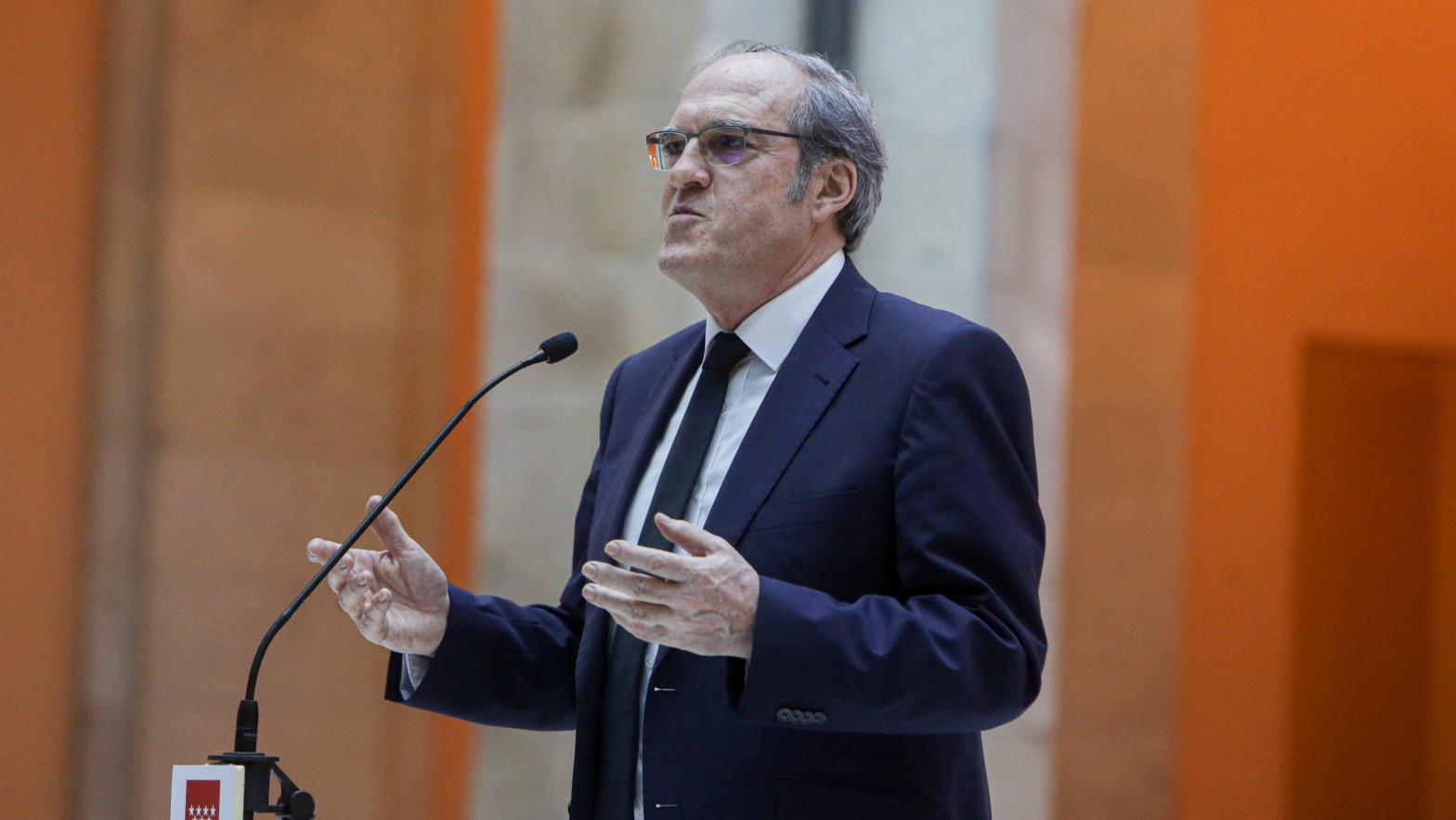 Elecciones en Madrid, Ángel Gabilondo