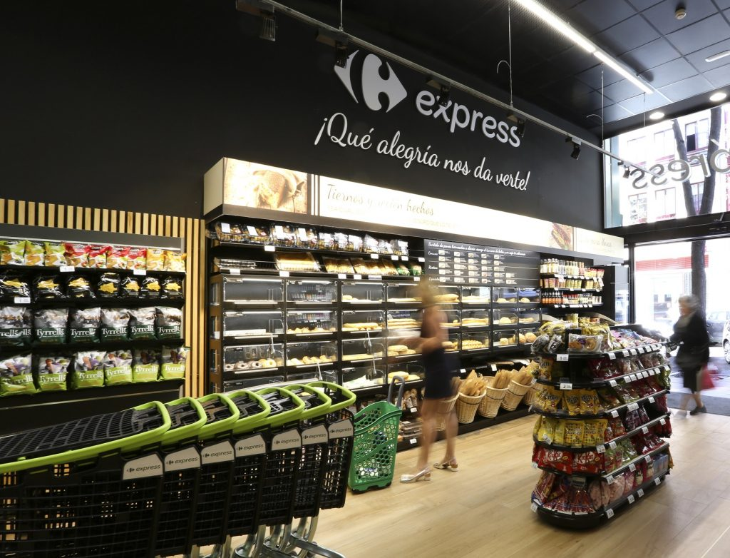 Una tienda de Carrefour Express